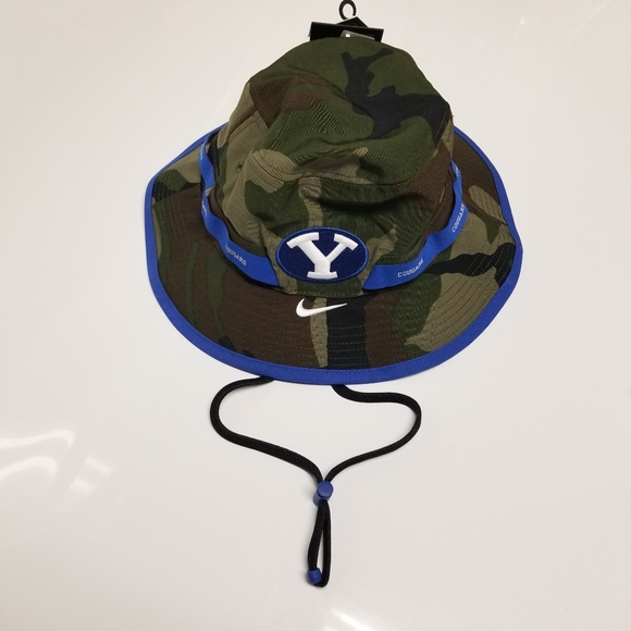 Nike BYU Cougars Team Issued Bucket Hat CT0192-010